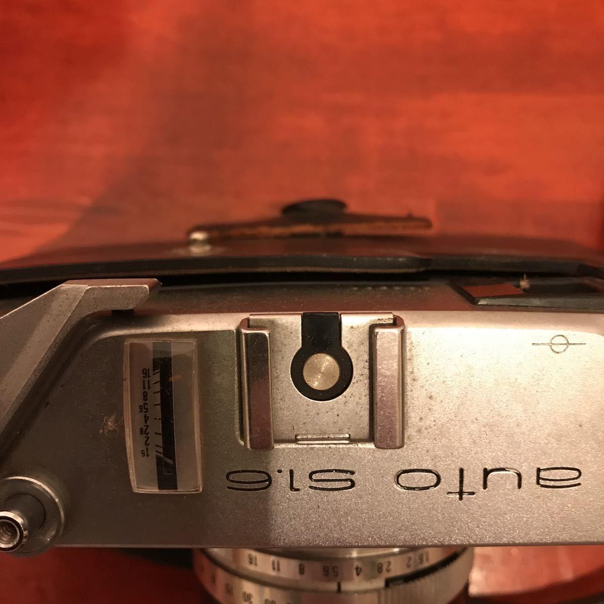 ★☆カメラ★☆KONICA コニカ AUTO S1.6 レンズ HEXANON 1:1.6 f=45mm_画像4