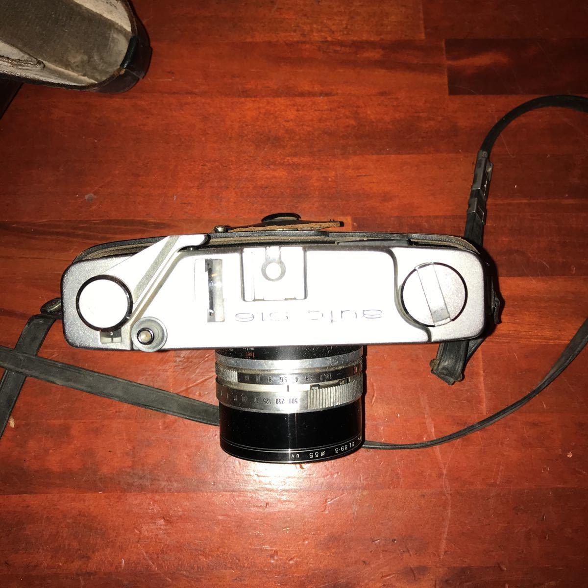 ★☆カメラ★☆KONICA コニカ AUTO S1.6 レンズ HEXANON 1:1.6 f=45mm_画像3