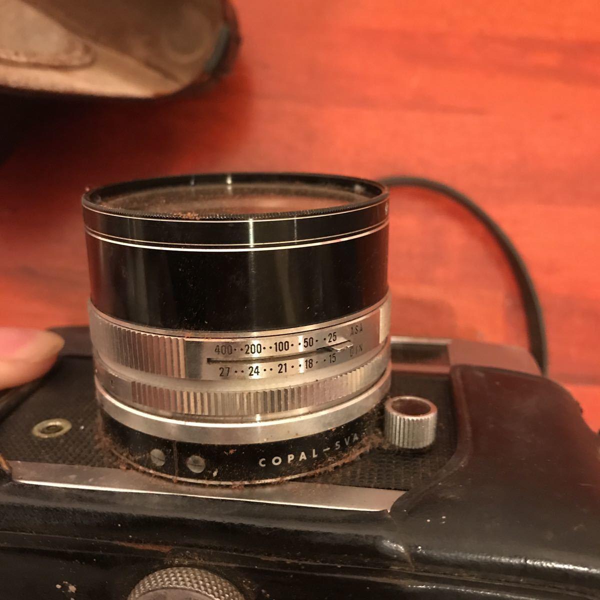 ★☆カメラ★☆KONICA コニカ AUTO S1.6 レンズ HEXANON 1:1.6 f=45mm_画像8