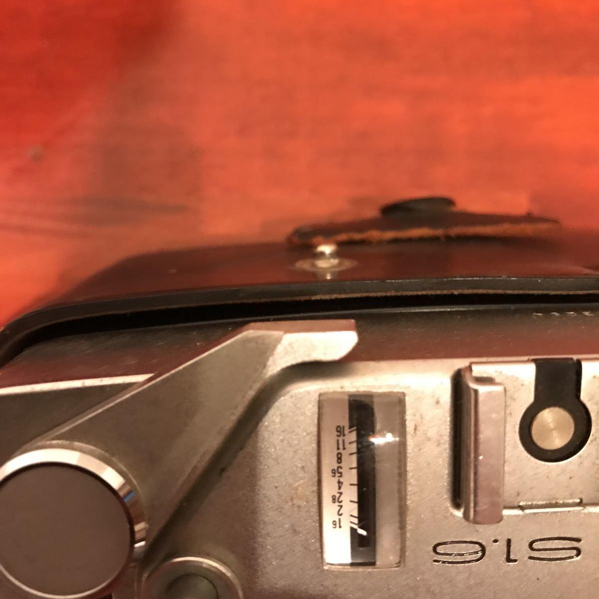 ★☆カメラ★☆KONICA コニカ AUTO S1.6 レンズ HEXANON 1:1.6 f=45mm_画像5