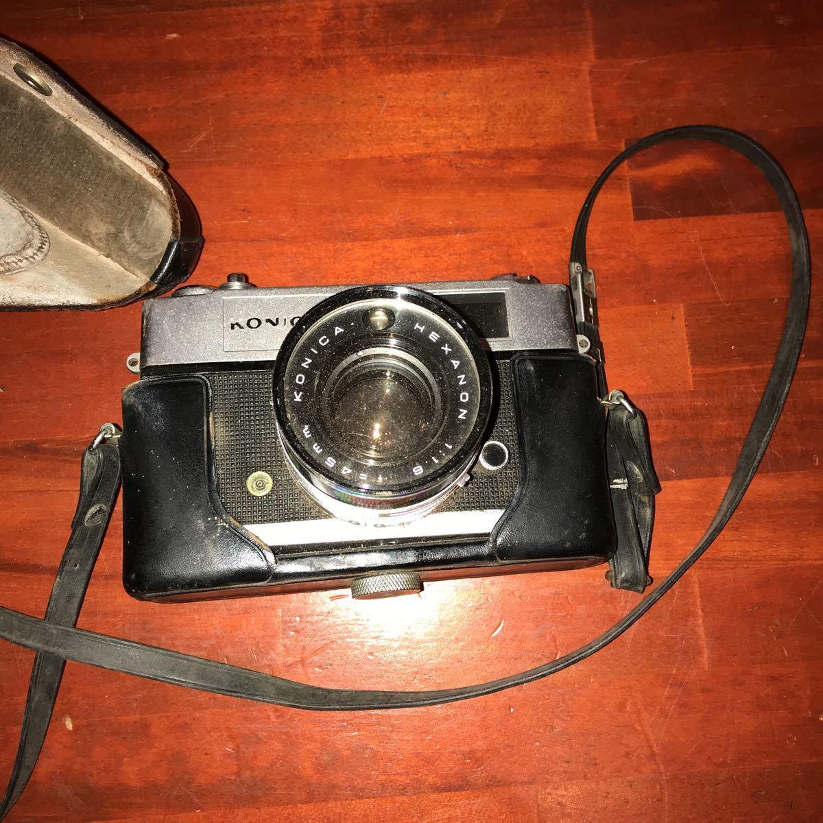 ★☆カメラ★☆KONICA コニカ AUTO S1.6 レンズ HEXANON 1:1.6 f=45mm_画像2