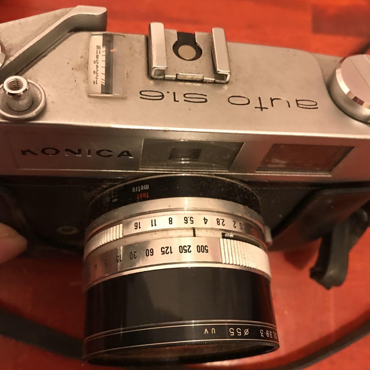 ★☆カメラ★☆KONICA コニカ AUTO S1.6 レンズ HEXANON 1:1.6 f=45mm_画像6