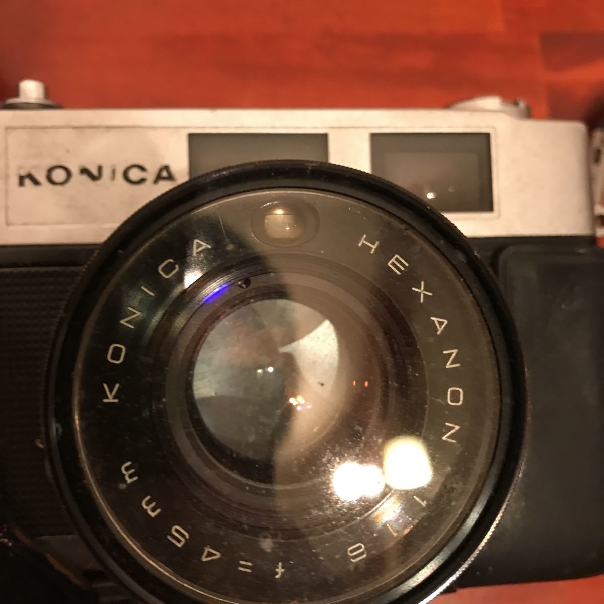 ★☆カメラ★☆KONICA コニカ AUTO S1.6 レンズ HEXANON 1:1.6 f=45mm_画像7