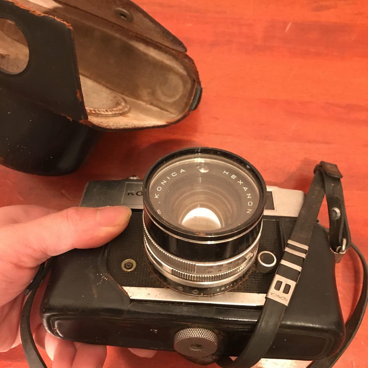 ★☆カメラ★☆KONICA コニカ AUTO S1.6 レンズ HEXANON 1:1.6 f=45mm_画像10