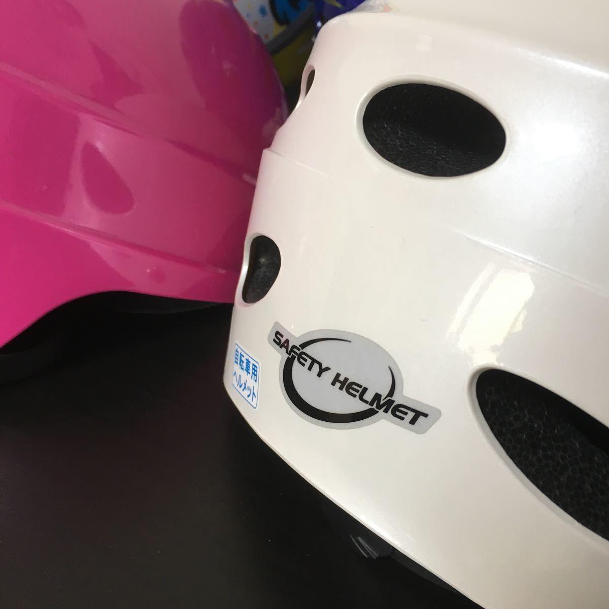 1円~ 自転車 ジュニア ヘルメット 8個セット 未使用品 新品 SGマーク付 児童用 子供用 アジアンフィットタイプ_画像4