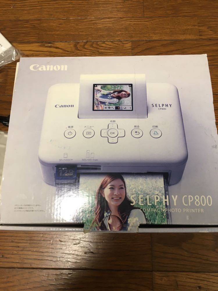 Canon、コンパクト フォト プリンター、SELPHY CP800_画像2