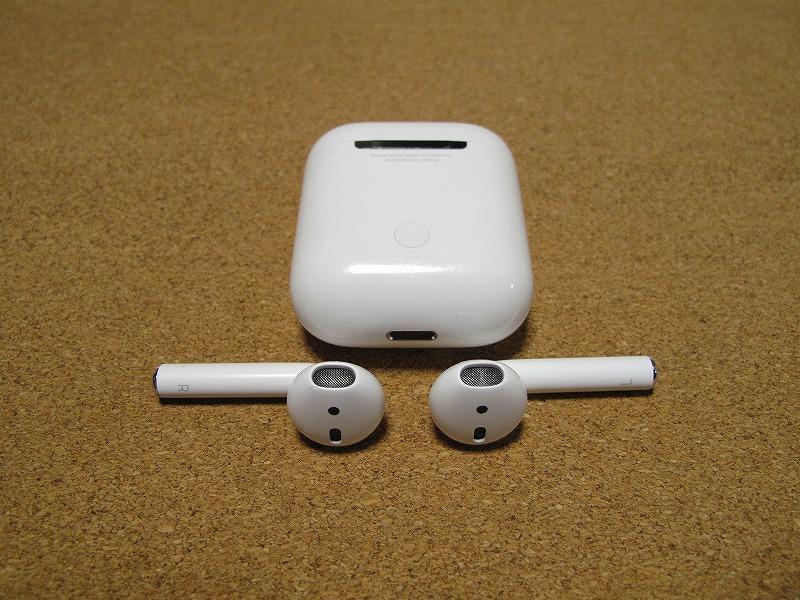 Apple アップル Air Pods エアーポッズ A1602 ワイヤレスイヤホン Bluetooth接続 MMEF2J/A