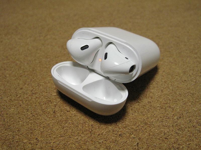 Apple アップル Air Pods エアーポッズ A1602 ワイヤレスイヤホン Bluetooth接続 MMEF2J/A_画像4