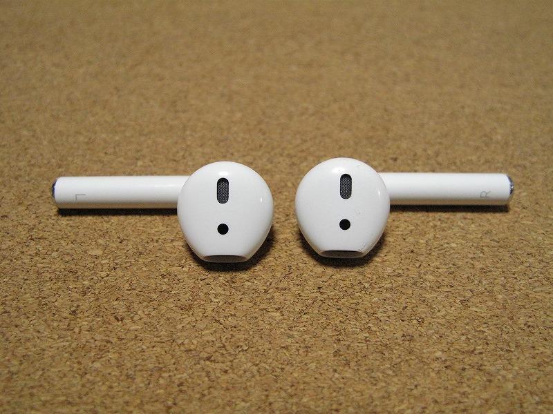 Apple アップル Air Pods エアーポッズ A1602 ワイヤレスイヤホン Bluetooth接続 MMEF2J/A_画像7