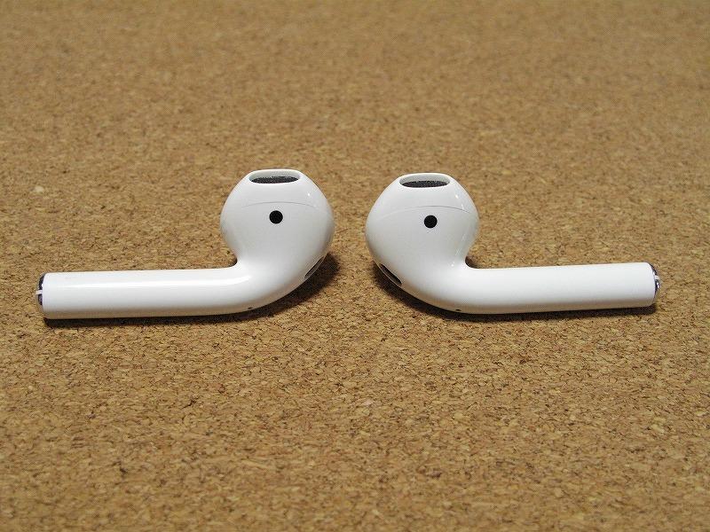 Apple アップル Air Pods エアーポッズ A1602 ワイヤレスイヤホン Bluetooth接続 MMEF2J/A シリコンケース付き_画像4