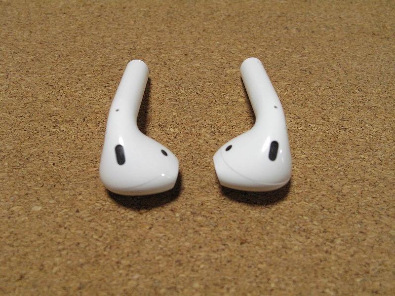 Apple アップル Air Pods エアーポッズ A1602 ワイヤレスイヤホン Bluetooth接続 MMEF2J/A シリコンケース付き_画像5