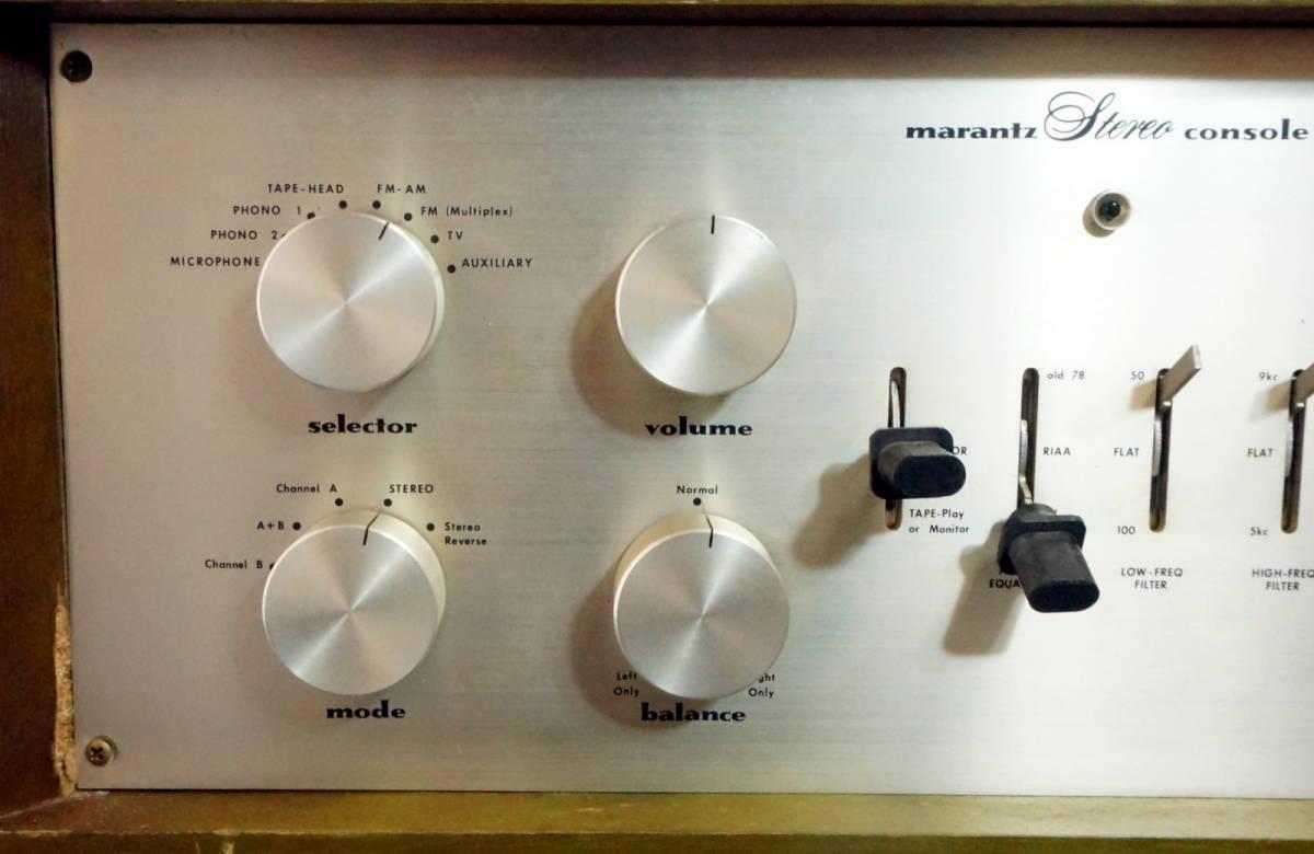 marantz マランツ model 7k 真空管 プリアンプ ウッドケース ジャンク品 KZX_画像2