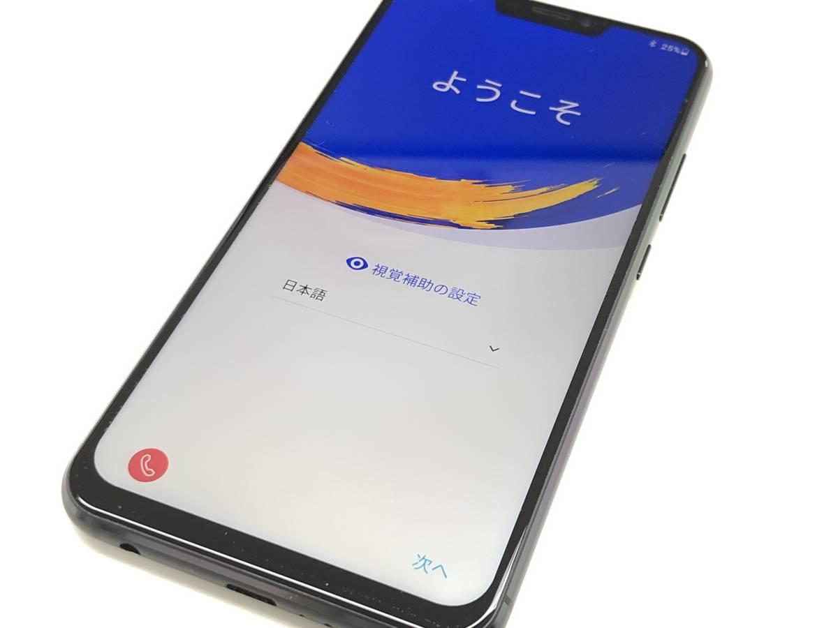◆◇国内版SIMフリー ASUS ZenFone 5 (ZE620KL) 6GB/64GB ブラック 中古美品◇◆