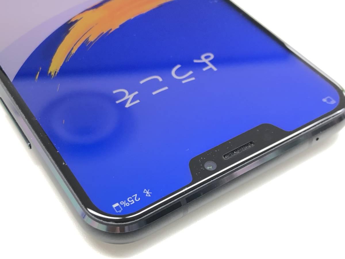 ◆◇国内版SIMフリー ASUS ZenFone 5 (ZE620KL) 6GB/64GB ブラック 中古美品◇◆_画像3