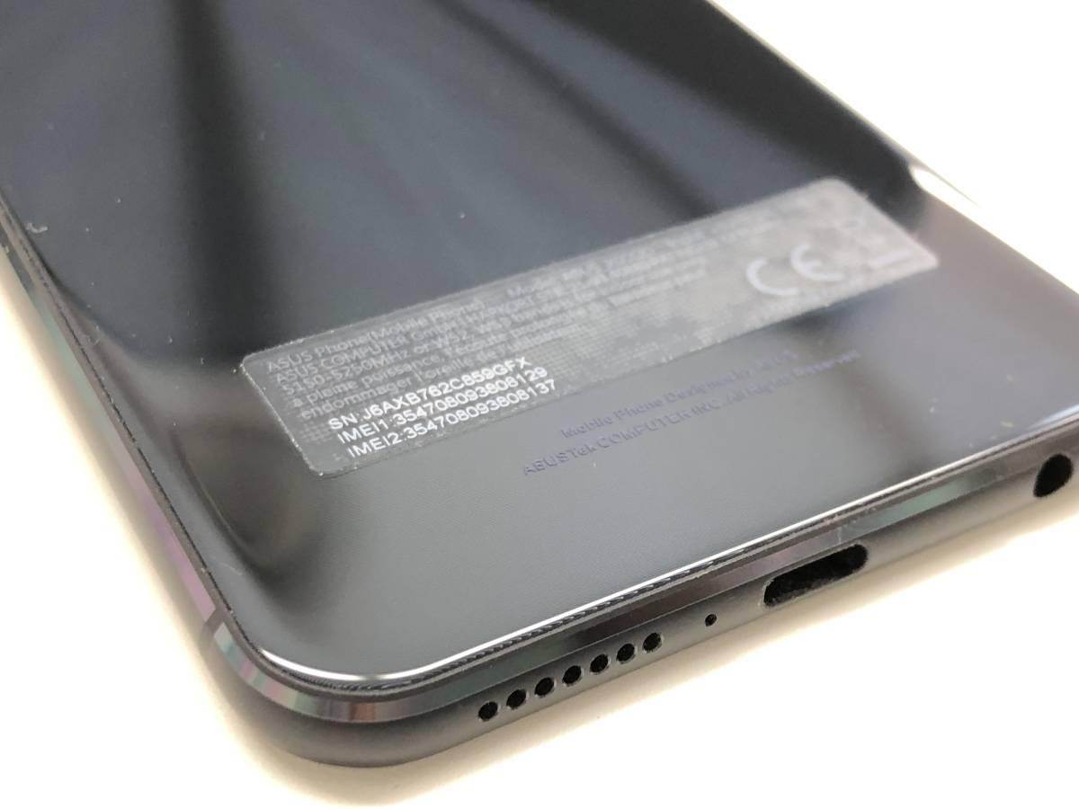 ◆◇国内版SIMフリー ASUS ZenFone 5 (ZE620KL) 6GB/64GB ブラック 中古美品◇◆_画像10