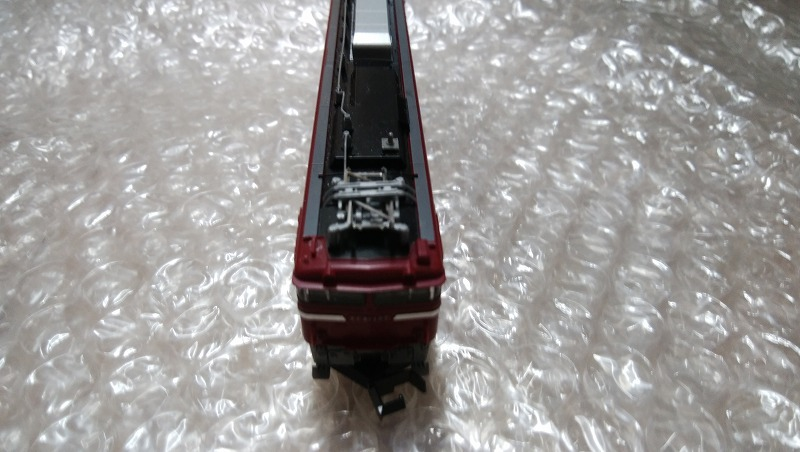 【TOMIX訳有】限定品 JR 24系 「さよならあけぼの」 セットばらし EF81形電気機関車 JR東日本色 ひさし付き トミックス_画像5