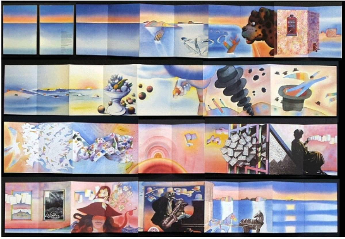 ■ARTBOOK_OUTLET■ 83-069 ★フォロン 作品 The Conversation JEAN MICHEL FOLON & MILTON GLASER 1983 コンテンポラリー アート 現代美術_画像2