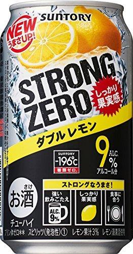 サントリーチューハイ -196℃ ストロングゼロ Wレモン 350ml×6本_画像5