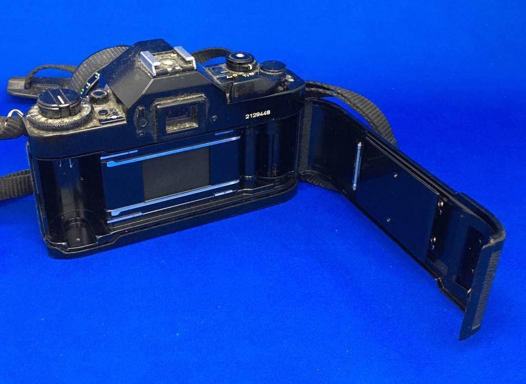 e 必見! 中古品 Canon A-1 キャノン CANON ZOOM LENS FD 35-70mm 1:3.5-4.5 動作未確認 ジャンク扱い !_画像5