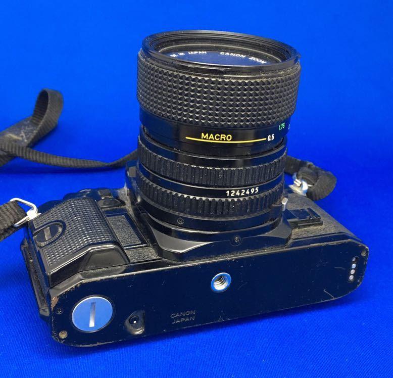 e 必見! 中古品 Canon A-1 キャノン CANON ZOOM LENS FD 35-70mm 1:3.5-4.5 動作未確認 ジャンク扱い !_画像6