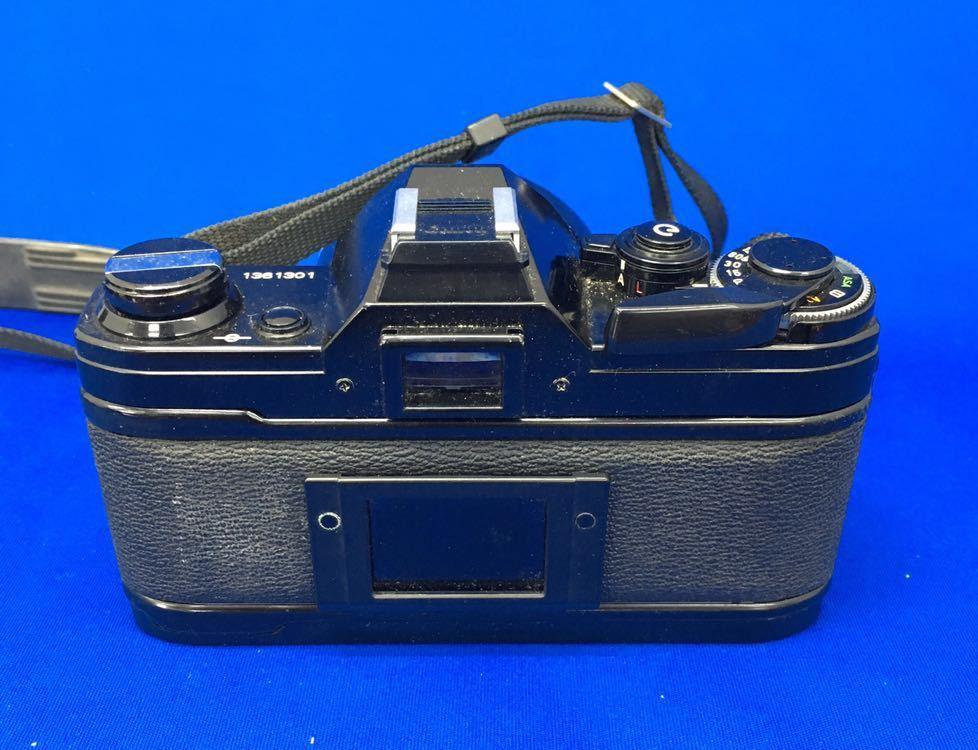 h 必見! 中古品 Canon AE-1 FD 50mm 1:1.8 s.c. / CANON LENS 200mm 1:4 s.s.c. / 付属品等 まとめて 動作未確認 ジャンク扱い !_画像5