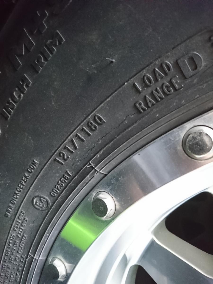 希少 4本 35インチ METHOD RACE WHEELS メソッド ホイール タイヤ 4本セット fjクルーザー ラングラー ランクル プラド サーフ_画像5