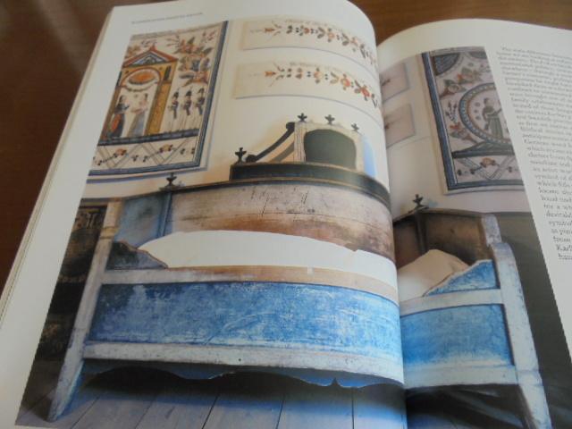 洋書Scandinavian Painted Decor  スカンジナビアンの装飾ペイント 家具 壁 天井 トールペイント ステンシル_画像5