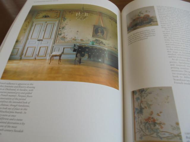 洋書Scandinavian Painted Decor  スカンジナビアンの装飾ペイント 家具 壁 天井 トールペイント ステンシル_画像7