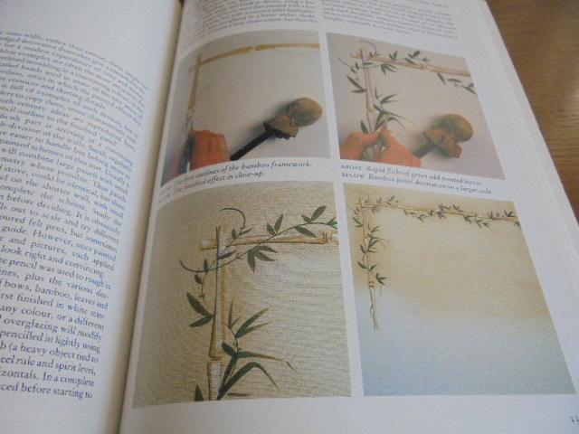 洋書Scandinavian Painted Decor  スカンジナビアンの装飾ペイント 家具 壁 天井 トールペイント ステンシル_画像8