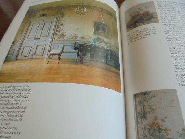 洋書Scandinavian Painted Decor  スカンジナビアンの装飾ペイント 家具 壁 天井 トールペイント ステンシル_画像10