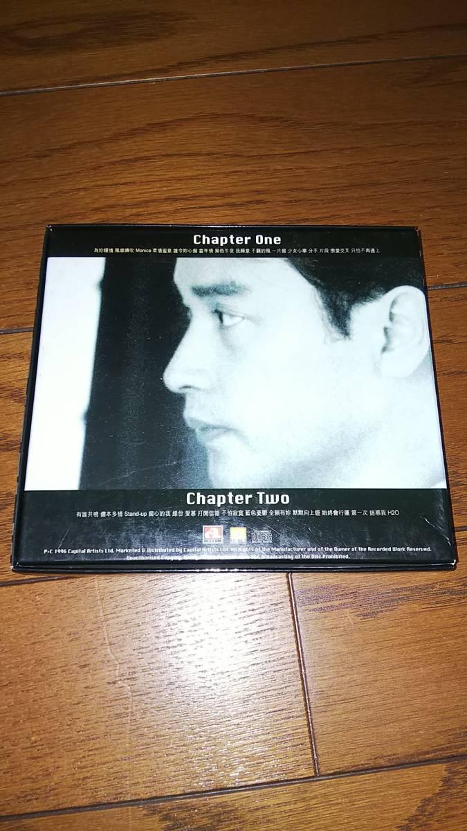 2枚組輸入盤CD 張國榮 レスリー・チャン哥哥的前半生 張國榮入門三十首 帯あり_画像2