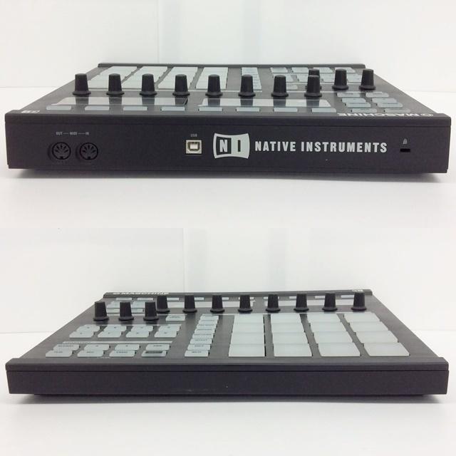 NATIVE INSTRUMENTS MASCHINE CONTROLLER ネイティヴインストゥルメンツ MIDIコントローラー_画像5