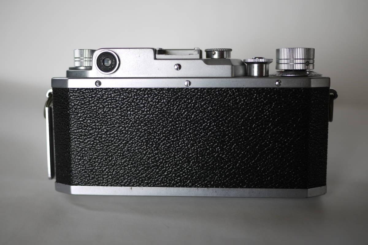 キヤノン 4sb 50mm F1.8 バルナックライカ型カメラ  点検済、動作良好 レンズ美品 即撮影可能  _画像2