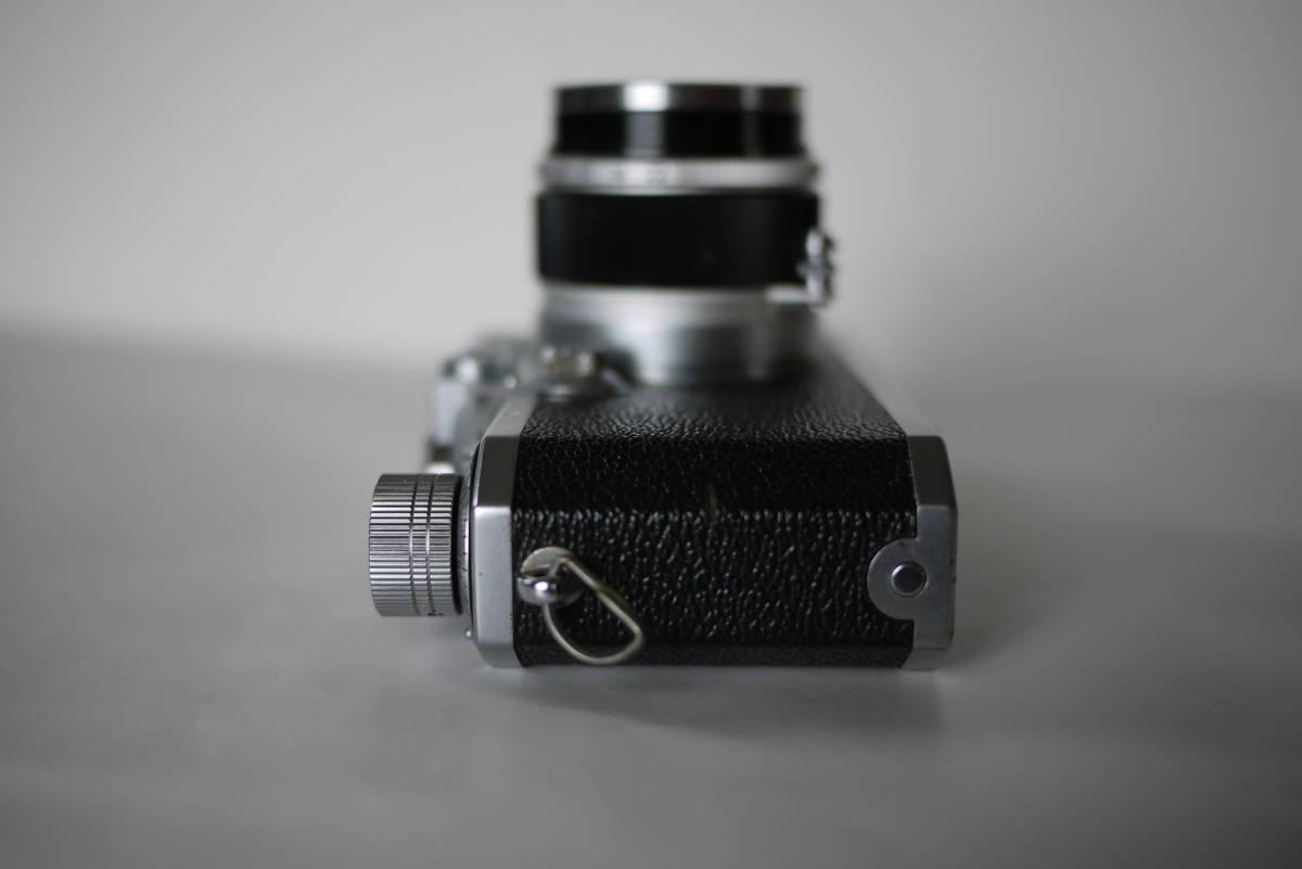 キヤノン 4sb 50mm F1.8 バルナックライカ型カメラ  点検済、動作良好 レンズ美品 即撮影可能  _画像4