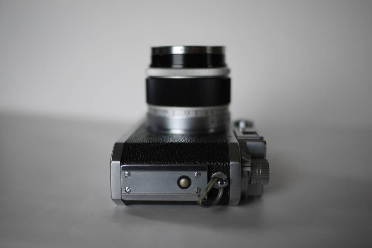 キヤノン 4sb 50mm F1.8 バルナックライカ型カメラ  点検済、動作良好 レンズ美品 即撮影可能  _画像5