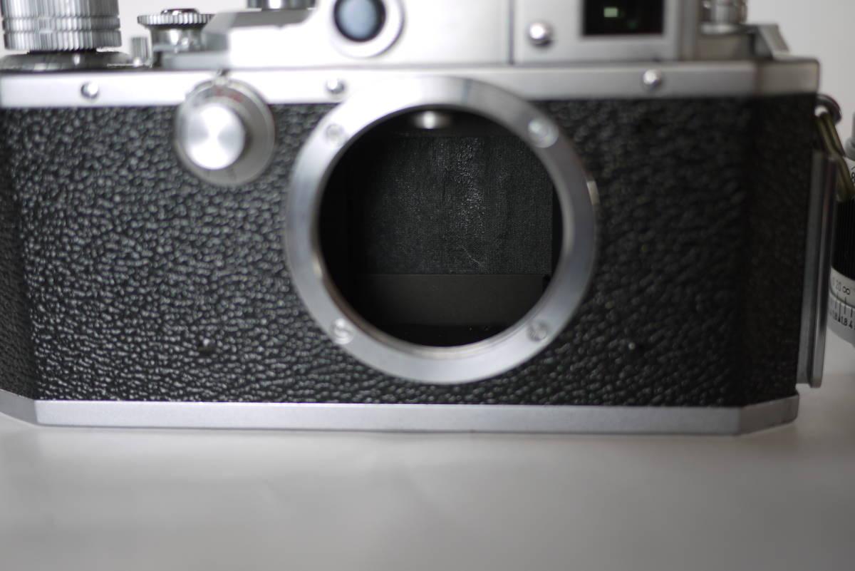 キヤノン 4sb 50mm F1.8 バルナックライカ型カメラ  点検済、動作良好 レンズ美品 即撮影可能  _画像9