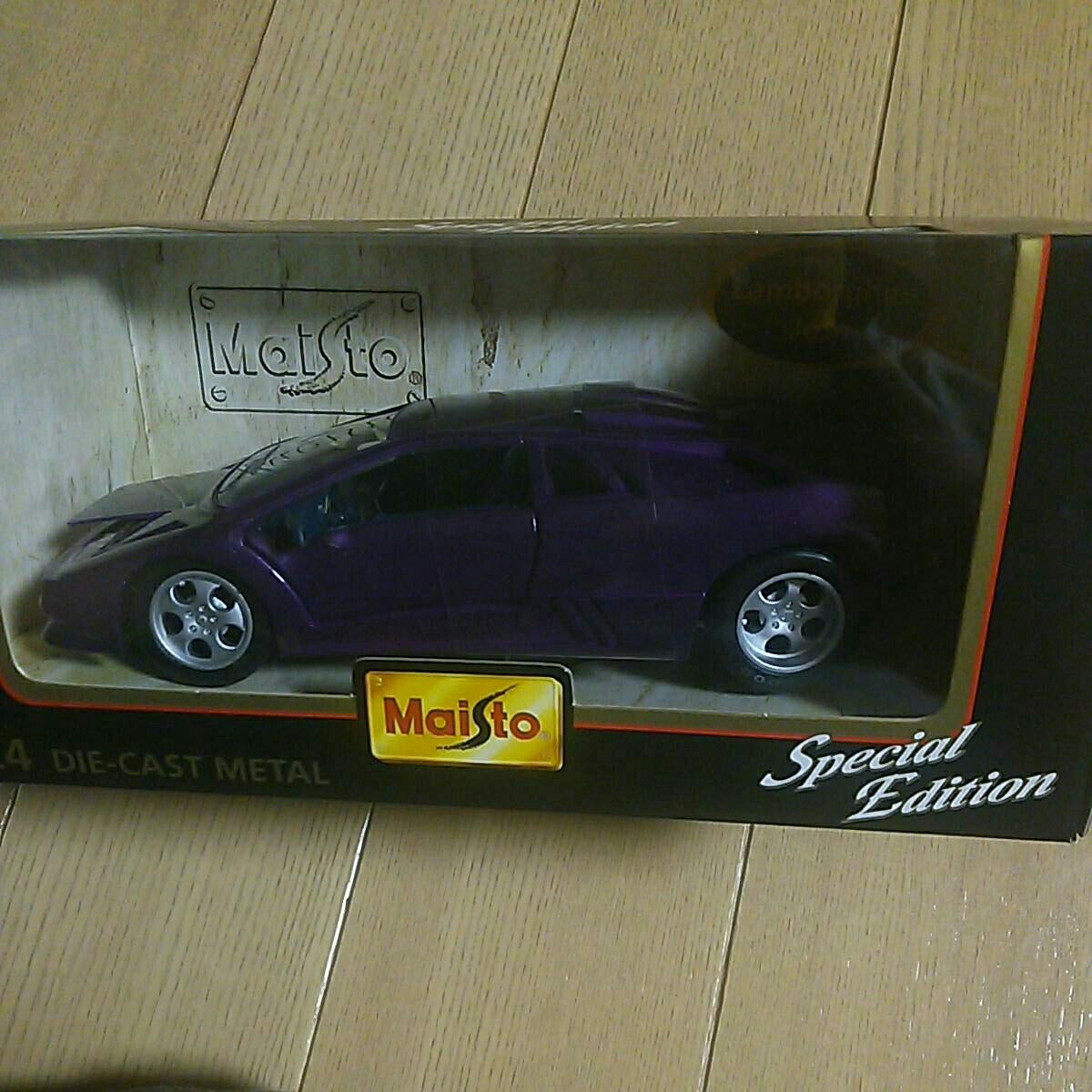 マイスト『1:24 ランボルギーニ イオタ』未開封 未使用品 ダイキャスト Maisto Lamborghini Jota 1/24_画像5