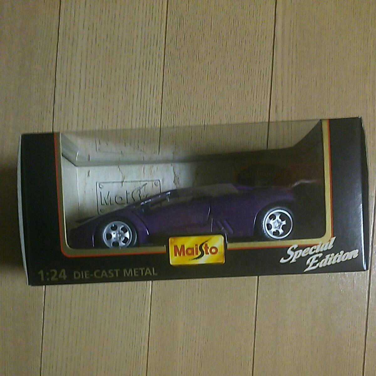 マイスト『1:24 ランボルギーニ イオタ』未開封 未使用品 ダイキャスト Maisto Lamborghini Jota 1/24_画像1