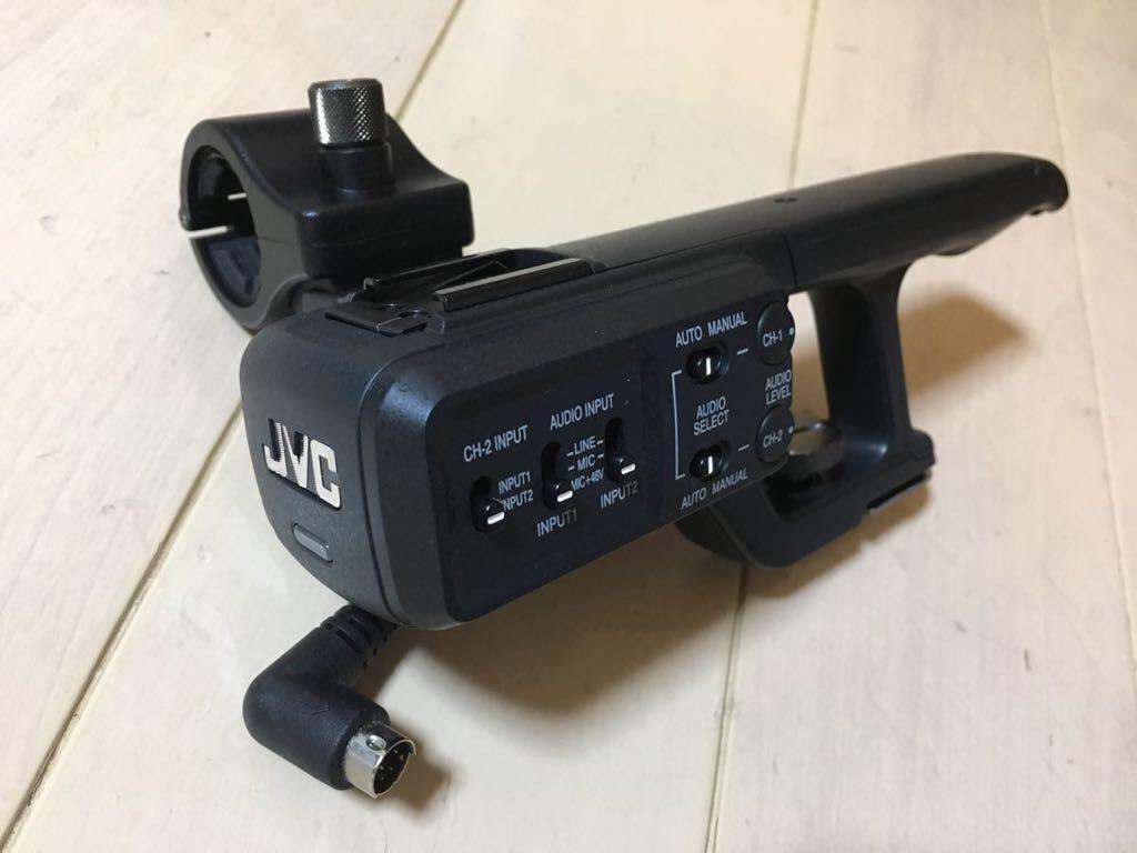 ☆状態良好美品☆JVCケンウッド 4Kメモリーカードカメラレコーダー GY-HMQ10用 ガンマイクホルダー カメラパーツ
