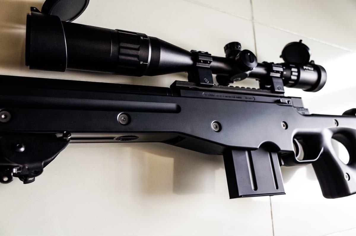 東京マルイ ボルトアクションライフル L96 AWS ブラックストック_画像8