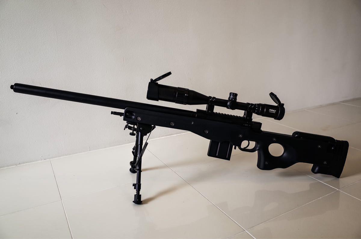 東京マルイ ボルトアクションライフル L96 AWS ブラックストック_画像2