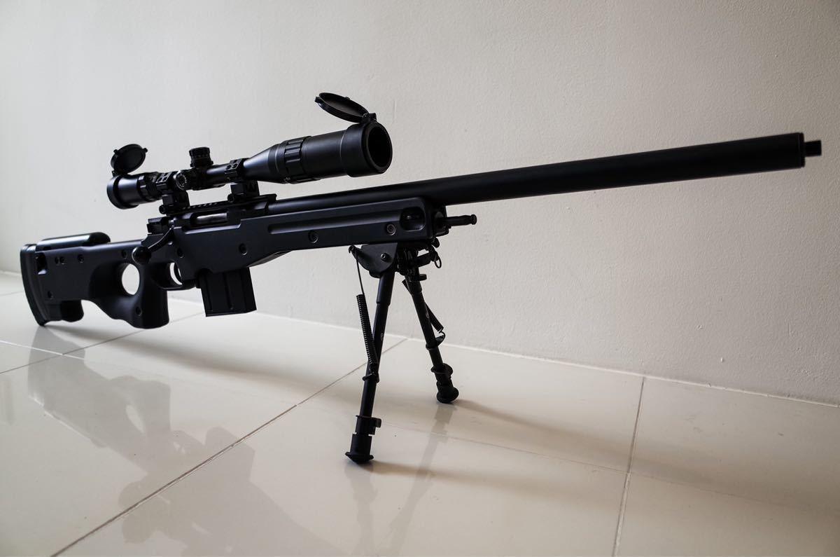 東京マルイ ボルトアクションライフル L96 AWS ブラックストック