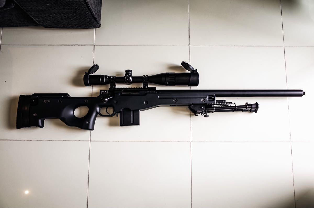 東京マルイ ボルトアクションライフル L96 AWS ブラックストック_画像3