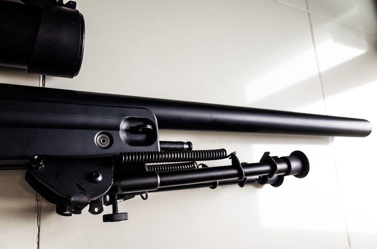 東京マルイ ボルトアクションライフル L96 AWS ブラックストック_画像6