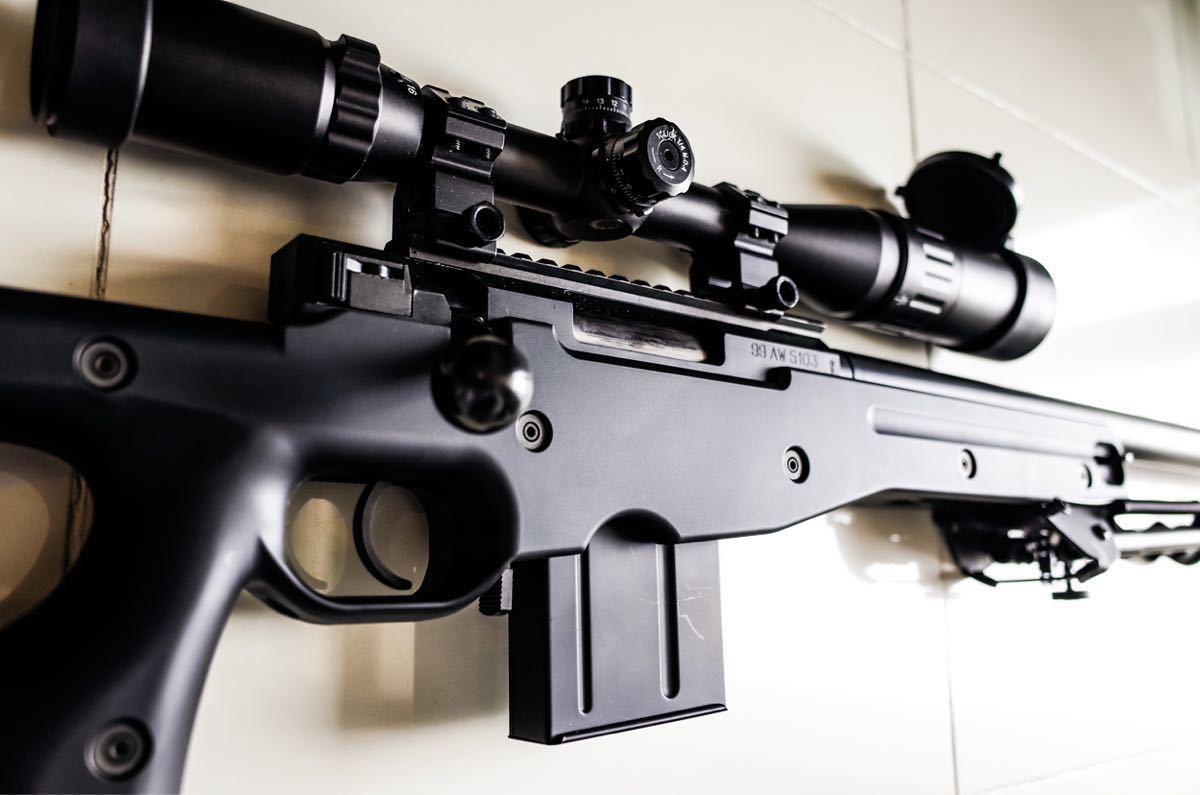 東京マルイ ボルトアクションライフル L96 AWS ブラックストック_画像4