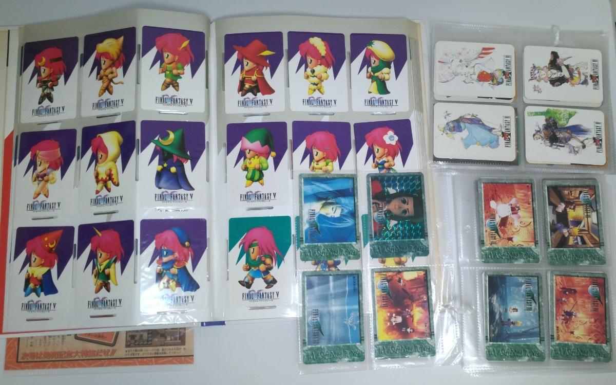 ファイナルファンタジー FF 5 6 7 カードダス ファイル ホログラム コンプリート 雑誌 コレクション アートミュージアム カード グッズ_画像6
