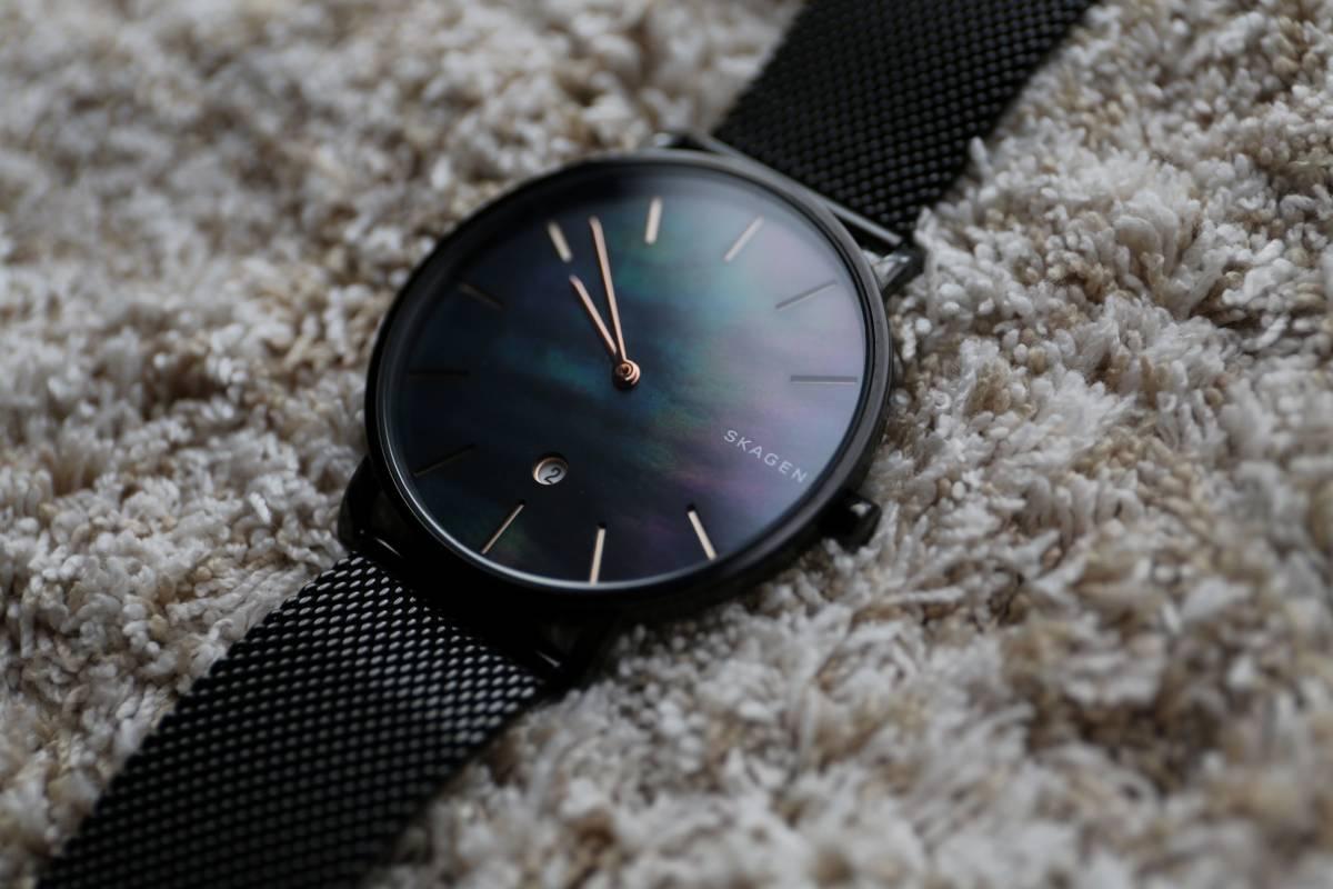 【美品】SKAGEN HAGEN SLIM SKW6472  腕時計 メンズ スカーゲン ハーゲンスリム