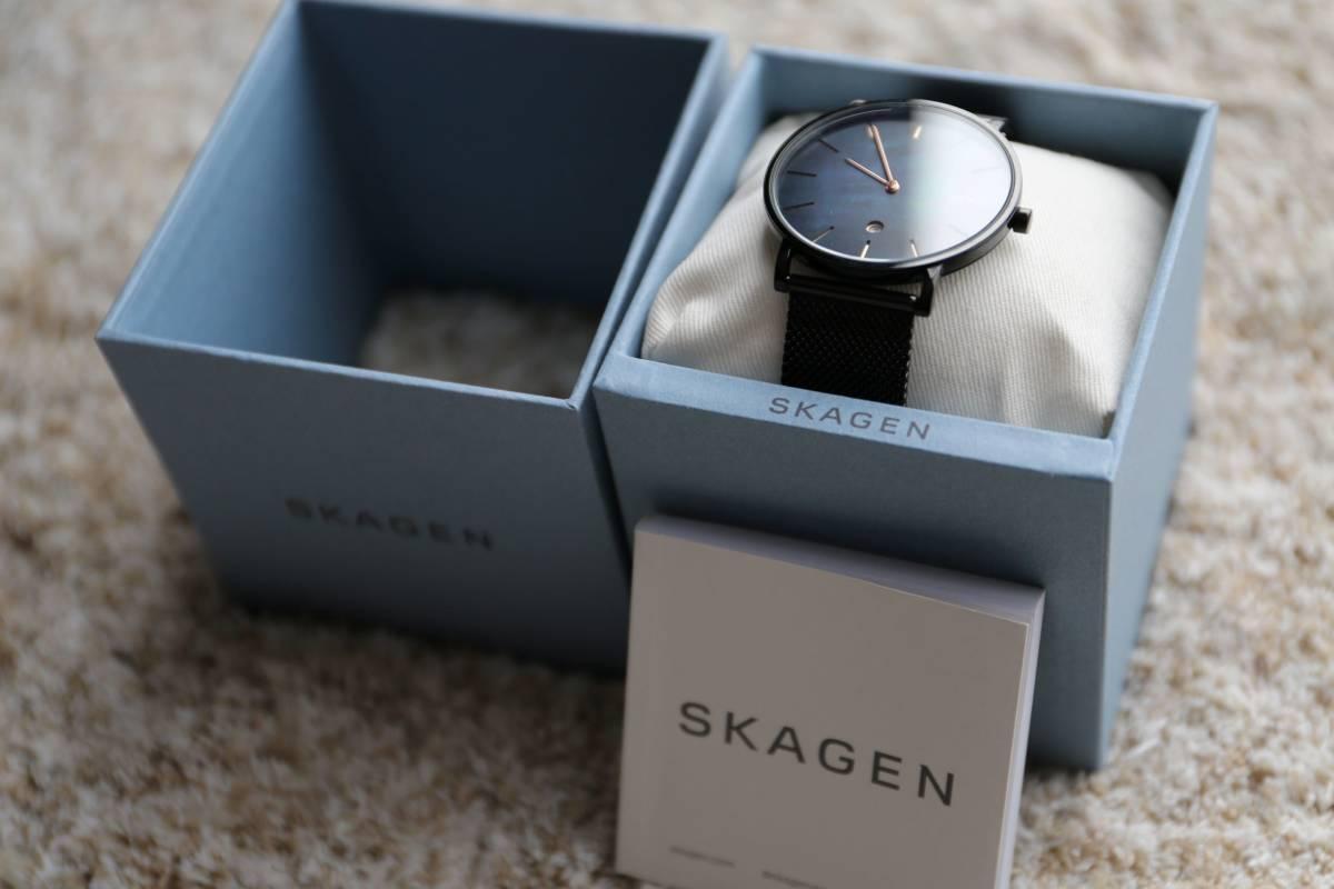 【美品】SKAGEN HAGEN SLIM SKW6472  腕時計 メンズ スカーゲン ハーゲンスリム _画像2
