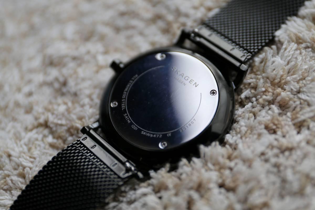 【美品】SKAGEN HAGEN SLIM SKW6472  腕時計 メンズ スカーゲン ハーゲンスリム _画像6