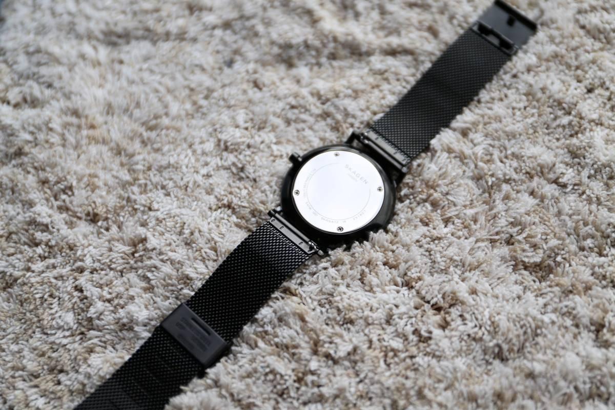 【美品】SKAGEN HAGEN SLIM SKW6472  腕時計 メンズ スカーゲン ハーゲンスリム _画像8